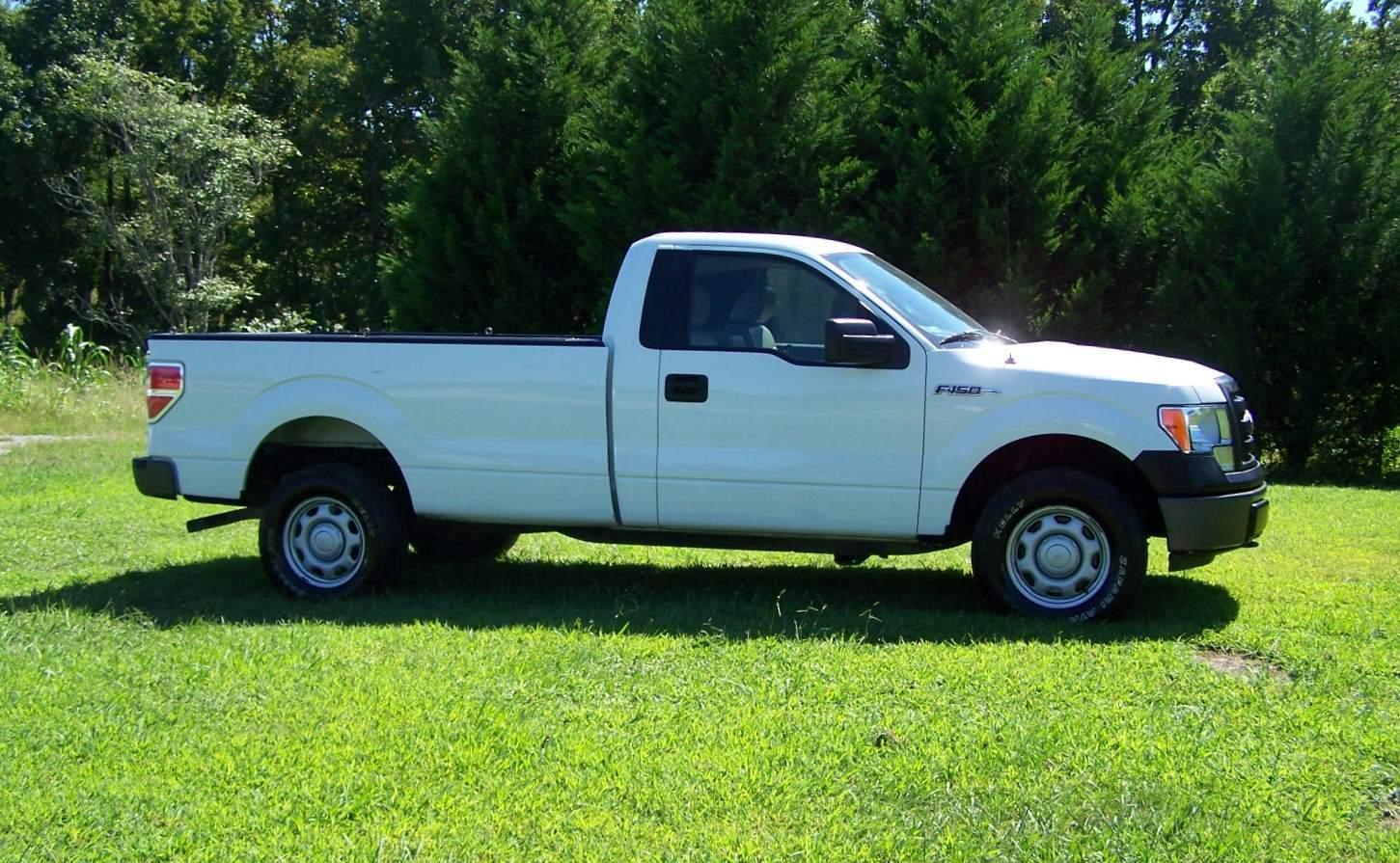Half Truck Half Tractor Trailer Pick Up : Ford f xl light duty trucks pick up wd
